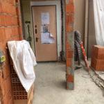 ristrutturazione casa demolizione ingresso